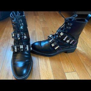 Zara Biker Boots - black